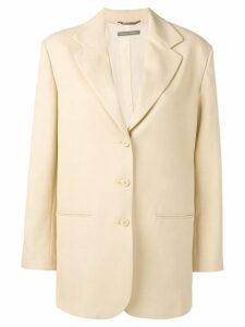 Alberta Ferretti straight-fit blazer - NEUTRALS