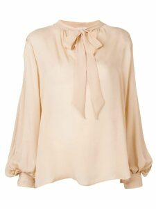 L'Autre Chose loose-fit blouse - Neutrals