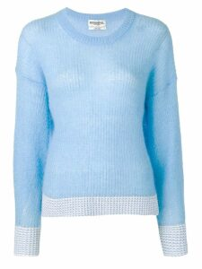 Essentiel Antwerp knitted jumper - Blue