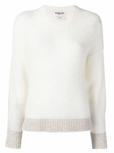 Essentiel Antwerp knitted jumper - White