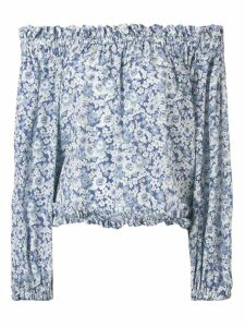 Stella McCartney off-the-shoulder blouse - Blue