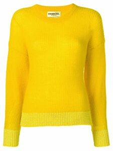 Essentiel Antwerp knitted jumper - Yellow