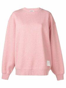 Acne Studios crew neck sweatshirt - Pink