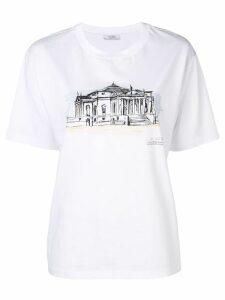 Peserico printed T-shirt - White