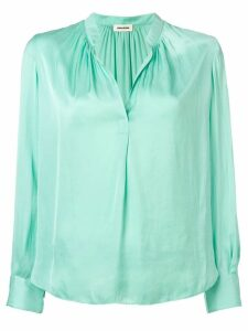 Zadig & Voltaire Tink satin blouse - Green