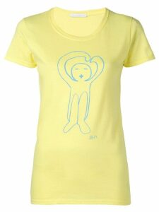 Société Anonyme logo T-shirt - Yellow