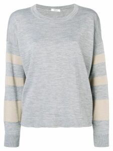 Peserico loose-fit pullover - Grey