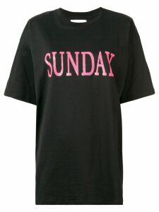 Alberta Ferretti Sunday T-shirt - Black