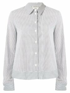 Semicouture white pinstripe shirt