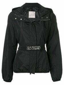 Moncler belted shell jacket - Blue