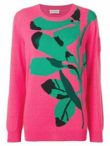 Moncler fine knit jumper - Pink