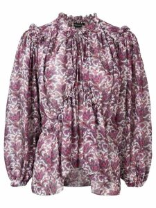 Isabel Marant Noon blouse - PURPLE