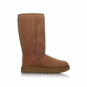 Ugg Tall Chestnut Ii - Brown Flat Calf Boots