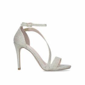 Carvela Libertine - Metallic Gold Stiletto Heel Sandals
