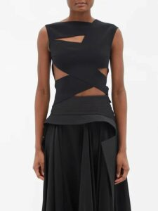 Valentino - Pussybow Silk Georgette Blouse - Womens - Pink