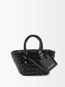 Germanier - Peplum-hem Tinsel Top - Womens - Silver