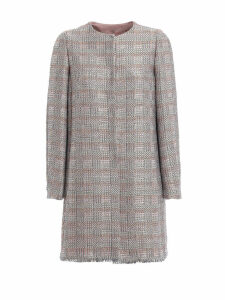 Emporio Armani Long Tweed Coat