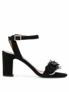 Tabitha Simmons Lilian Floral Sequin sandals - Black