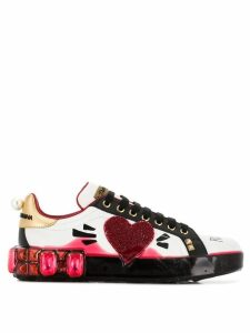 Dolce & Gabbana Heart Plain sneakers - White