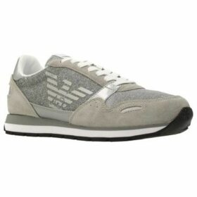 Armani  X3X058 XL  women's Shoes (Trainers) in Grey
