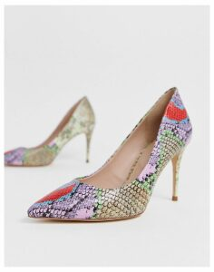 ALDO Tracey court shoes in multi snake