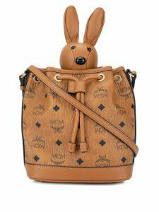 MCM Rabbit bucket bag - Brown