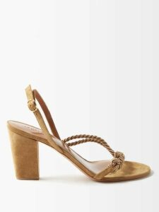 La DoubleJ - Clerk Tribal-print Short-sleeved Cotton Shirt - Womens - Black Print