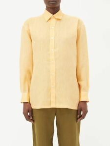 Giambattista Valli - Ruffled Polka Dot Tulle Blouse - Womens - Black