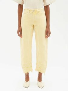 Pepper & Mayne - Cashmere And Wool Blend Wrap Cardigan - Womens - Beige