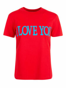 Alberta Ferretti I Love You T-shirt