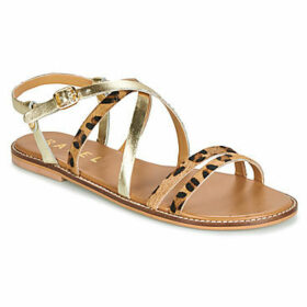 Ravel  MANATEE  women's Sandals in Gold
