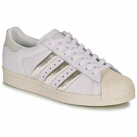 adidas  SUPERSTAR 80s W  women's Shoes (Trainers) in White