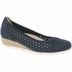 Gabor  Evelyn Womens Low Wedge Heel Shoes  women's Espadrilles / Casual Shoes in Blue