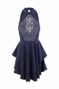 Lace Top Layered Dress
