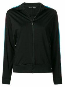 Etro contrast stripe cardigan - Black