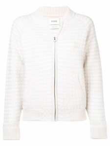 Barrie cashmere waffle-effect cardigan - White