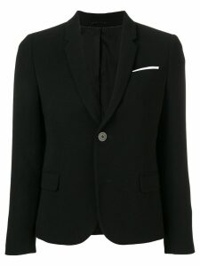 Neil Barrett fitted blazer - Black
