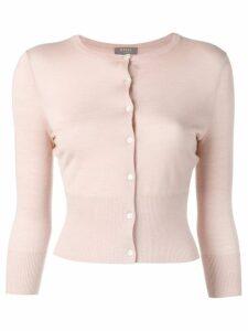 N.Peal Superfine cropped cardigan - Pink