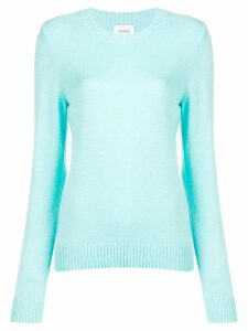 Barrie round neck fitted jumper - Blue