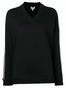 Kenzo back logo print sweatshirt - Black