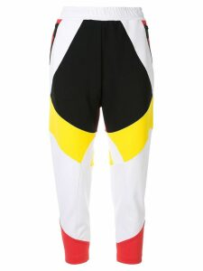 Dsquared2 colour block track trousers - Multicolour
