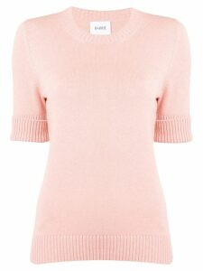 Barrie roll-cuff pullover jumper - PINK