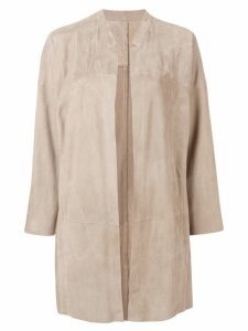Sylvie Schimmel Malice long jacket - Neutrals