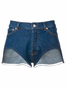 Forte Dei Marmi Couture cutout shorts - Blue