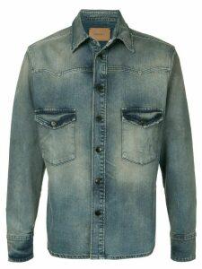 Ports V denim shirt - Blue