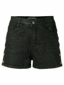 Ermanno Scervino press stud detail shorts - Black