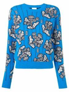 Barrie floral print jumper - Blue