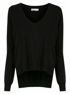 Nk v-neck knitted sweater - Black