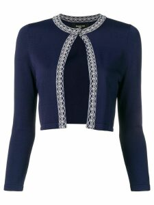 Paule Ka cropped cardigan - Blue