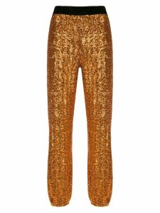 Nk sequinned joggers - GOLD